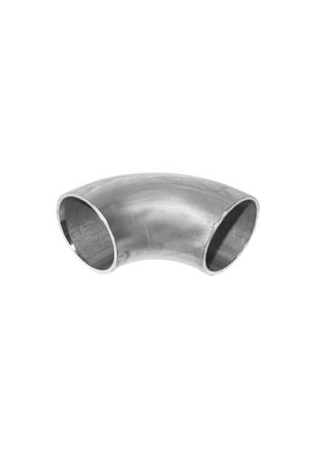 Coude 90° inox 304L diamètre extérieur 53mm épaisseur 1.5mm